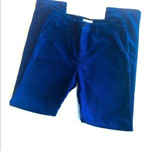 Burberry teenage boy's blue pants